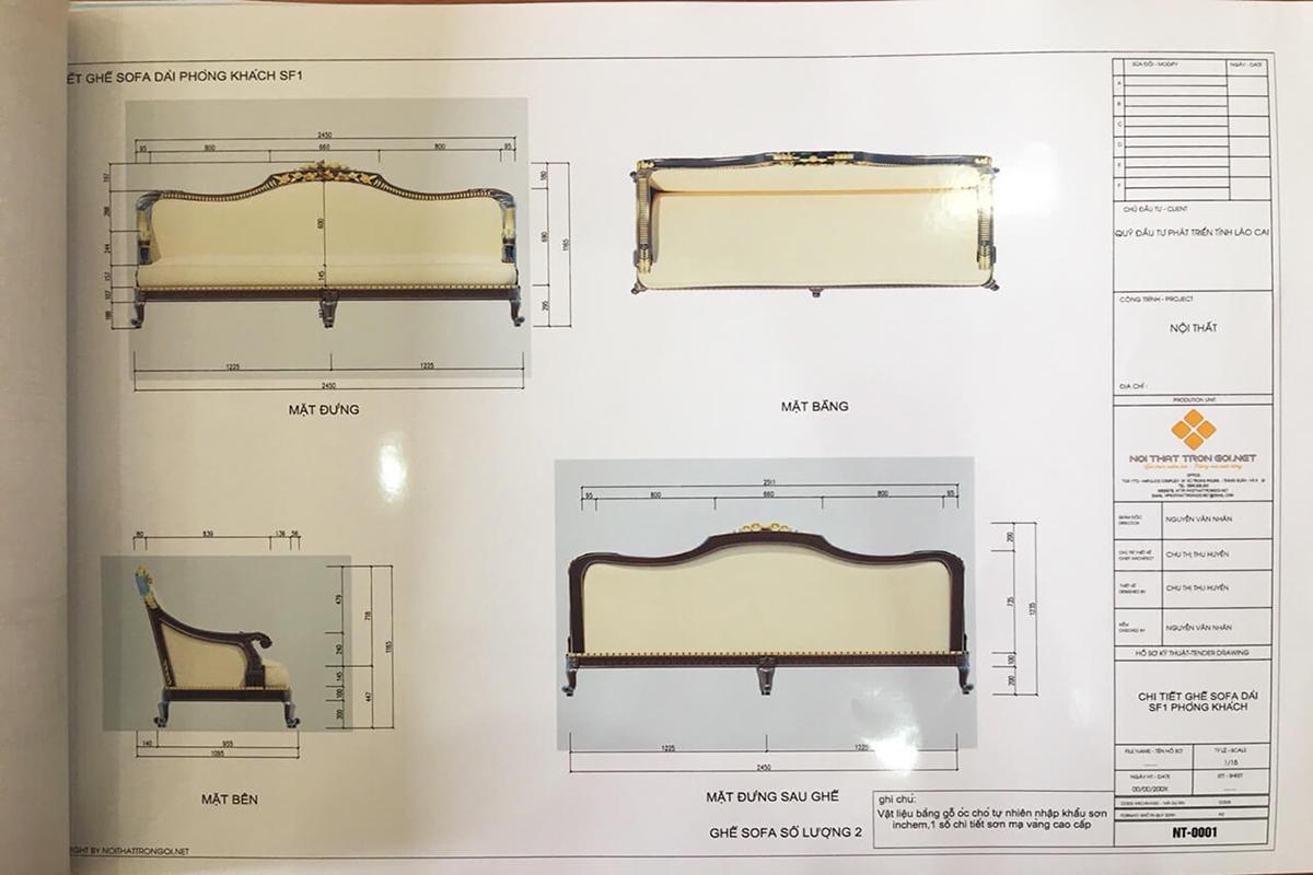 quy trình thiết kế thi công trọn gói